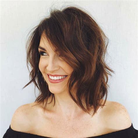 sensational shoulder length haircuts women medium