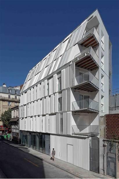 Dietmar Feichtinger Housing Paris Architectes Social Units