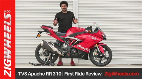Review Tvs Apache Rr 310 by Tvs Apache Rr 310 Ride Review Zigwheels