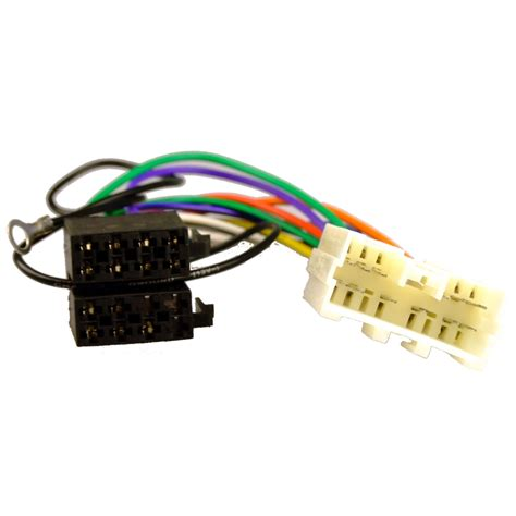 Mitsubishi Wiring Harnes Connector by Mitsubishi L200 07 13 Iso Adaptor Lead Wiring Car Radio