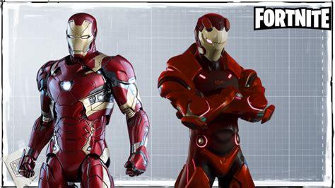 fortnite iron avengers endgame ltm marvel crossover skin nerdpool teased expect hack