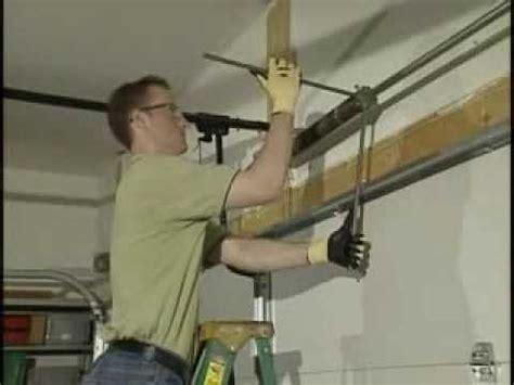 removing standard garage torsion springs youtube