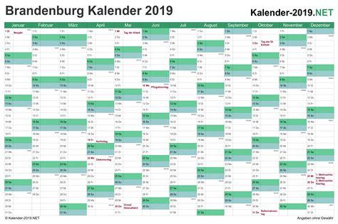 kalender brandenburg