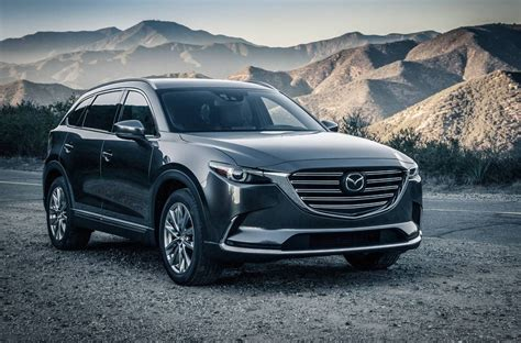 2018 Mazda Cx 9 Revealed Debuts New 25t Engine