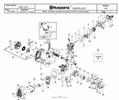 Husqvarna 125l Carburetor Diagram