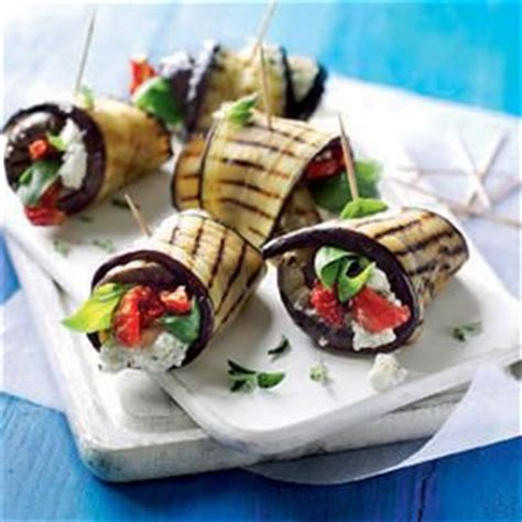 canape aubergine 25 best ideas about vegetarian starters on
