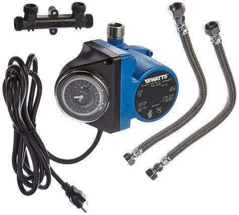 water system pump recirculating watts timer recirculation built heater circulating valve instant sensor sump grundfos pumps comfort install amazon recirculator