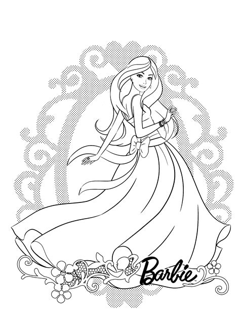 barbie dream house coloring pages coloring pages