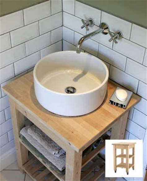 Ikea Vessel Sink Vanity by 16 Ingenious Ikea Hacks Ikea Kitchen Vanities And Open