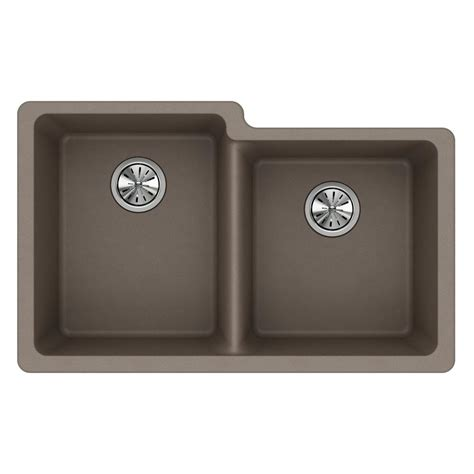 composite kitchen sinks elkay quartz classic undermount composite 33 in