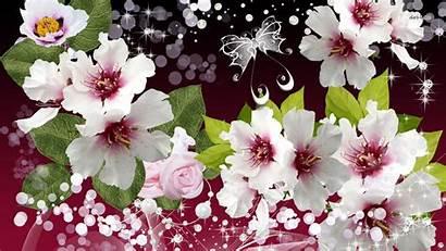 Elegant Flowers Eskipaper