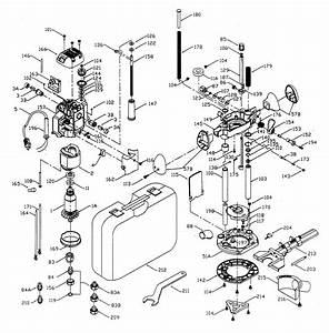 Porter Cable Plunge Router Parts