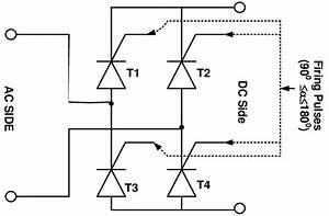 Single Phase Full Wave Bridge Rectifier Working In An