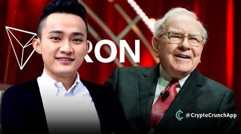 Tron Founder Justin Sun Postpones Lunch With Warren Buffet ...