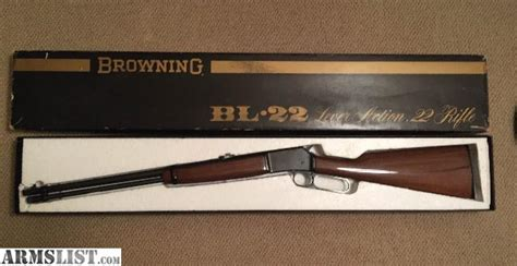 Rifle Made Japan Lever 22 Browning Action