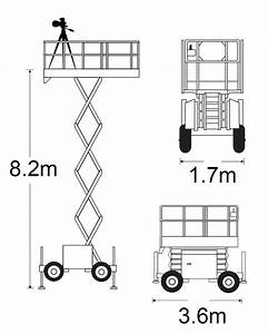 Scissor Lifts For Architectural Photography