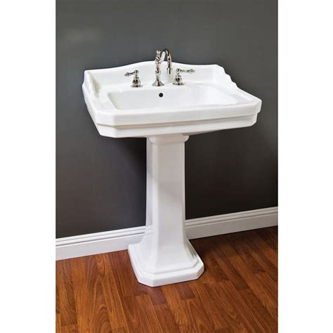 wide base pedestal sink barclay sinks wide base pedestal sink befon for tl233896