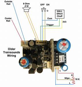 Lionel Trainsounds Module Connection Diagram