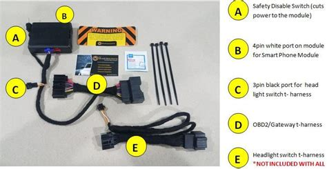 Lincoln Mkz Remote Start Plug Play Kit