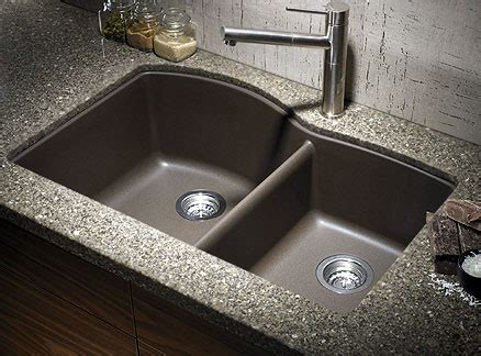 which side is water on a sink composite stone sink no more water spots also i like