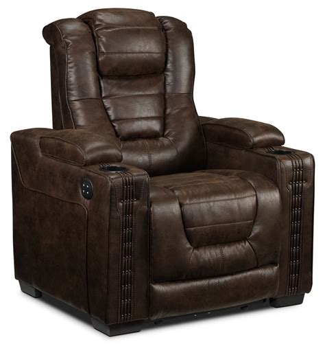 Power Reclining Loveseat by Dakota Power Reclining Loveseat Walnut S