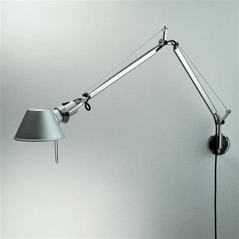 tolomeo with wall bracket industrial swing arm