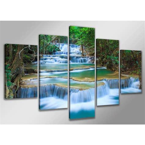 tableau moderne imprim 233 200x100 cm nature achat vente tableau toile toile bois les