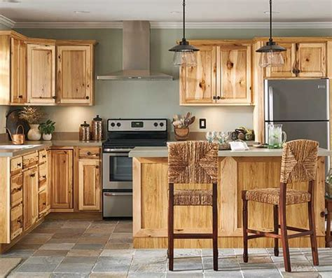 Lowes Hickory Cabinets by Lowes Denver Hickory Kitchen Cabinets Review Home Decor