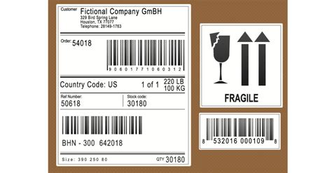 automate  selection  shipping labels  erp