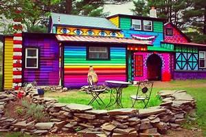24 casas coloridas ao redor do mundo - Casa Vogue Casas