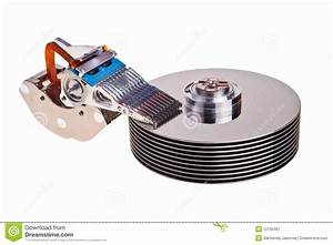 Hard Drive Internal Parts  Stock Image  Image Of Drive
