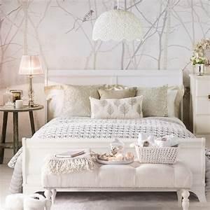 Schlafzimmer Vintage Style : biel we wn trzach pomys y na przytulne aran acje inspiruj ce aran acje wn trz blog wn trza ~ Michelbontemps.com Haus und Dekorationen
