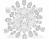 Coloring Crystal 270px 76kb sketch template