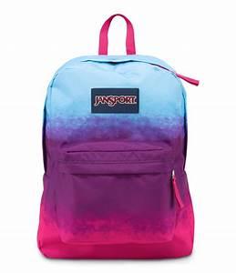 JanSport SuperBreak School Backpack - Purple Night Color