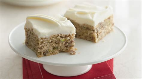 zucchini bars  browned butter frosting recipe