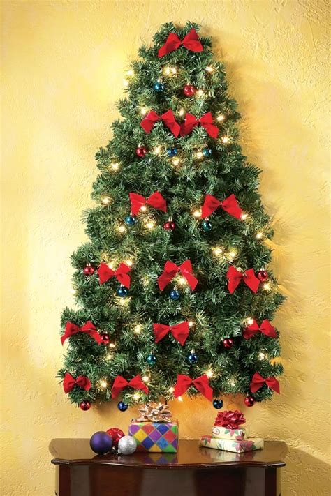 light tree on wall lighted wall hanging christmas tree