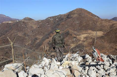 ทหารเกาหลีเหนือ-ใต้ ข้ามชายแดนหากันเป็นครั้งแรก