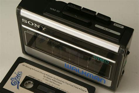 Cassette Walkman by Black Vintage Sony Walkman Portable Cassette Player