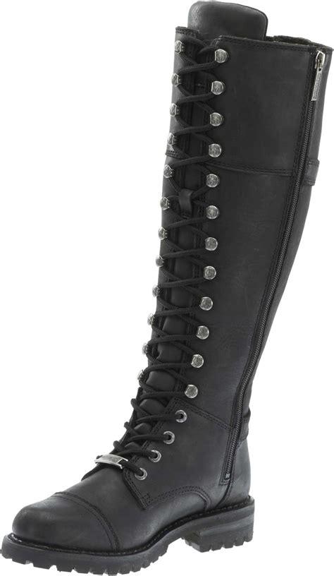 female motorbike boots harley davidson women 39 s beechwood 15 quot motorcycle boots