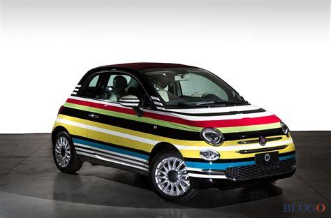 Fiat Garage by Fiat 500c Missoni All Asta La One Di Garage Italia
