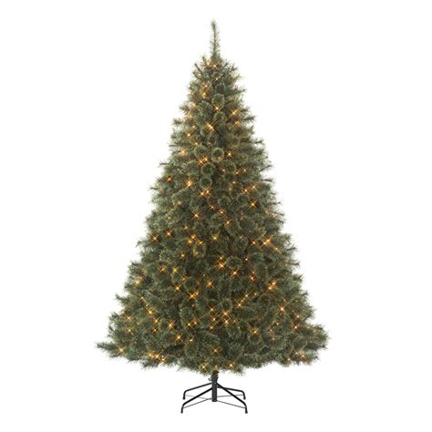 jaclyn smith 7 5 clear pre lit edison cashmere spruce