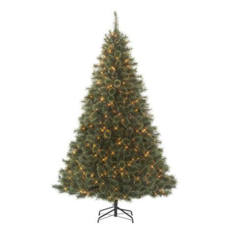 jaclyn smith christmas tree smith 7 5 clear edison spruce tree kmart