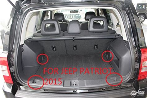 jeep compass trunk jeep compass interior dimensions www indiepedia org