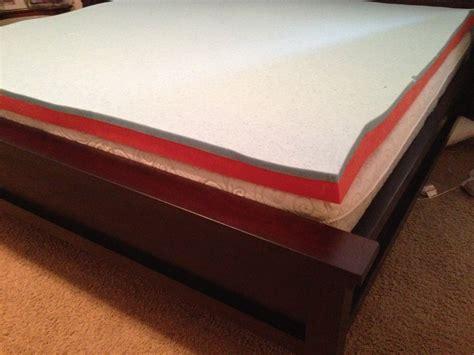 novaform mattress topper costco 14 quot primifina novaform gel memory foam mattress