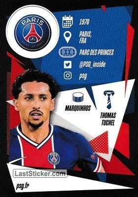 Card PSG1: Team Badge - Topps UEFA Champions League 2020 ...