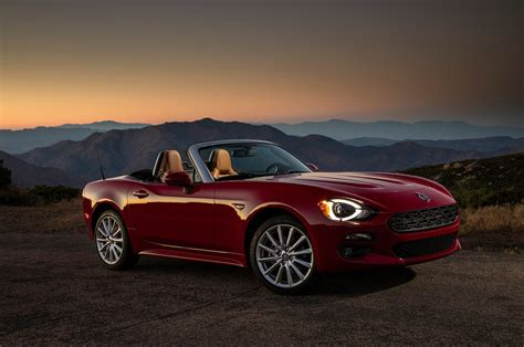Fiat 124 Spider by 2018 Fiat 124 Spider Reviews And Rating Motor Trend