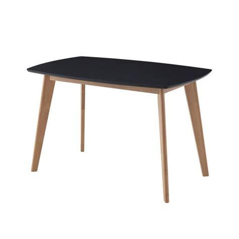 table de cuisine noir ensemble oslo noir table de cuisine et salle à manger