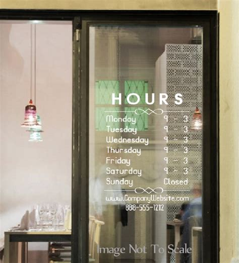 And Decor Store Hours by Business Storefront Hours And Information 002