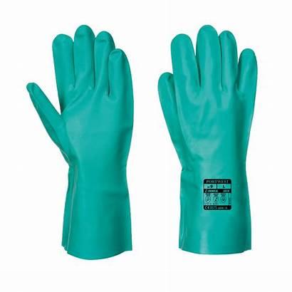 Nitrile Protection Chimique Gants Portwest A810 Chemical