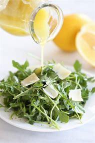 Arugula Salad with Lemon Vinaigrette Dressing